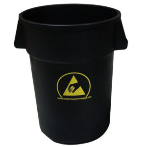 wbas180 44 gallon esd trash can