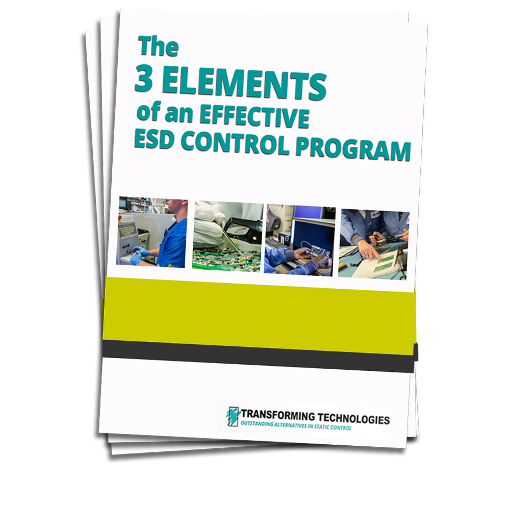 3 ELEMENTS OF ESD CONTROL